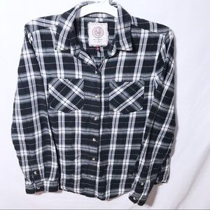 American Heritage plaid button up